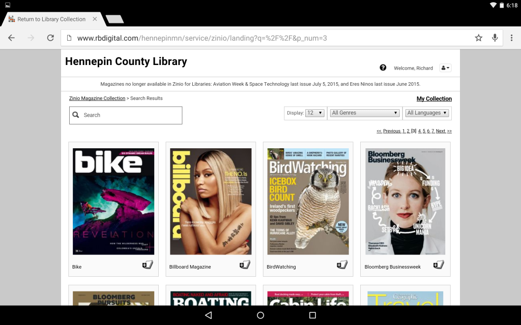 Zinio-01-Browse-Available-Magazines-Birdwatching